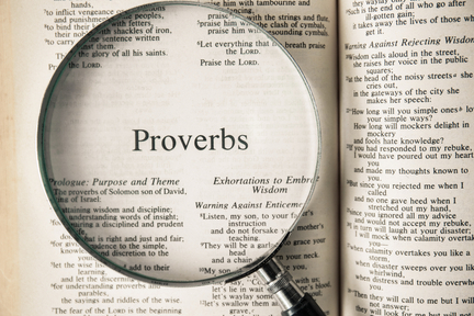 E10 Proverbs 1:12 Daily Devotions