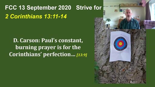 Strive for full restoration