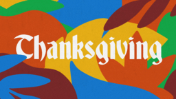 Thanksgiving Palm  PowerPoint image 1