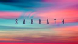 Sabbath  PowerPoint image 1