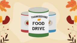 Thanksgiving Food Drive  PowerPoint image 1