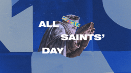 All Saints' Day Collage  PowerPoint image 1