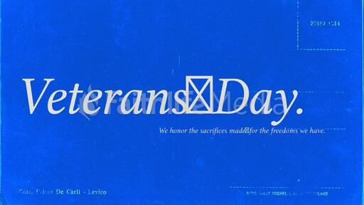 Veterans Day Postcard