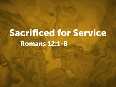 Sacrificed for Service