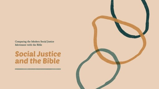 Social Justice and Jesus