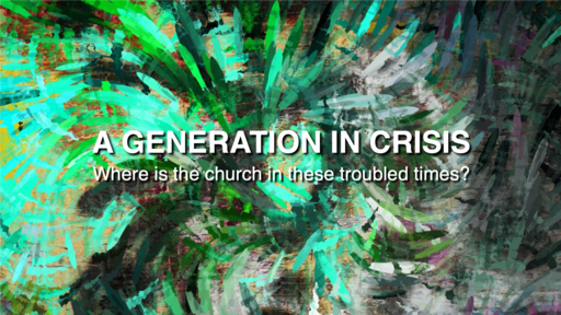"2020-09-20 A Generation in Crisis: ""Be Patient"" - James Miller, Jr"