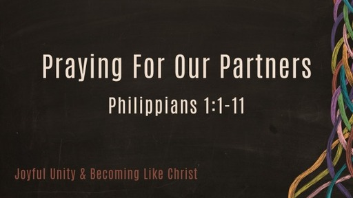 Praying for our Partners