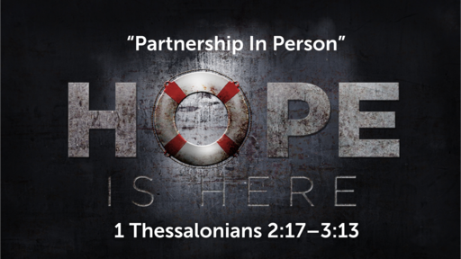 """""""Partnership In Person"""" 