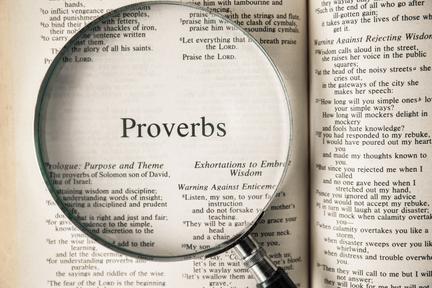 E 11 Proverbs 1:13-14 Daily Devotions