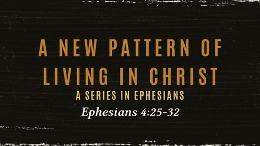 A New pattern of Living in Christ