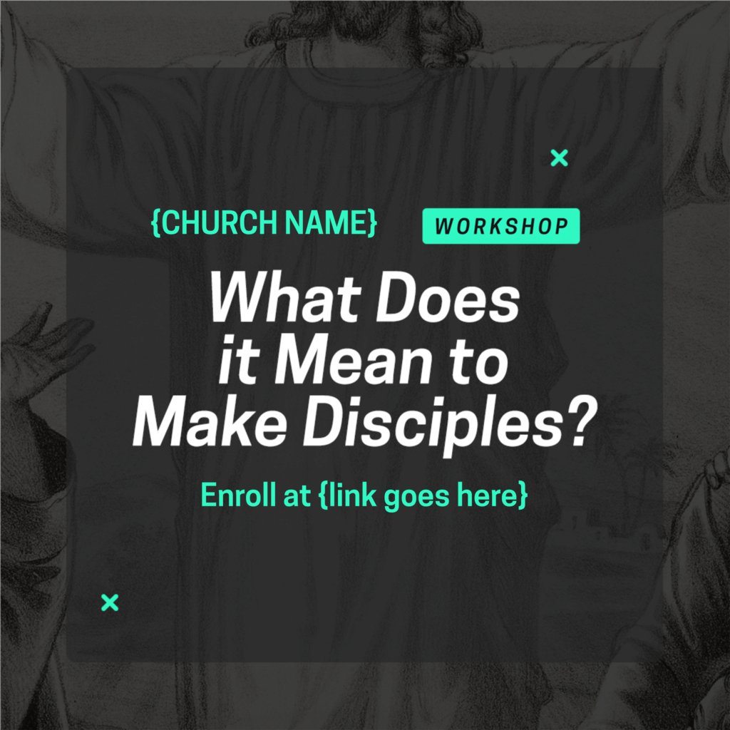 Make Disciples Social Shares large preview
