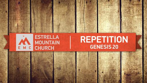 REPETITION: GENESIS 2020