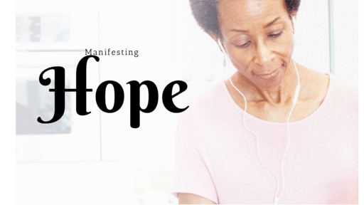 Sunday Sermon - Manifesting Hope