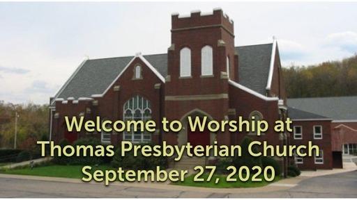 TPC Sunday Worship Service September 27, 2020