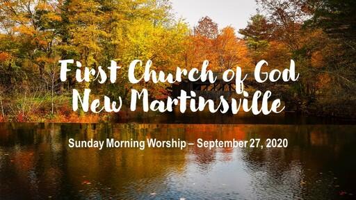 Sunday Morning Worship - 9-27-20