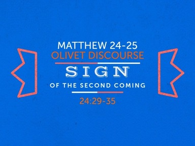 Sign of the Second Coming