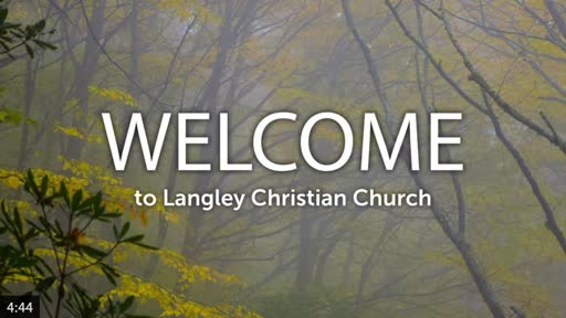 Sunday Worship Service, September 27, 2020