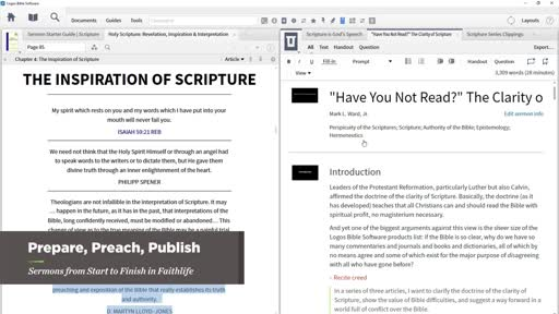 Sermons in Faithlife   Tutorial