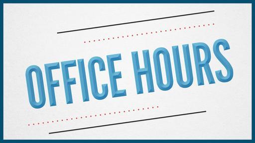Pastor Office Hours