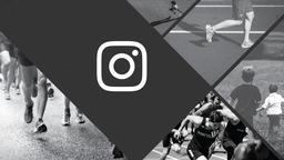 Running to Win instagram 16x9 PowerPoint Photoshop image