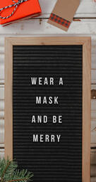 Wear a Mask and Be Merry  PowerPoint image 6