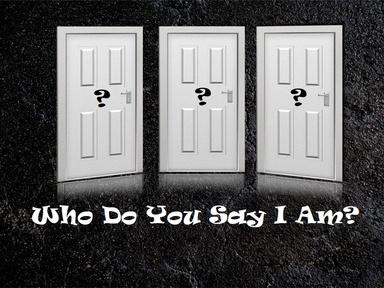 2020-10-04 'Who do you say I am'