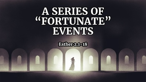 """A Series of """"Fortunate"""" Events"""
