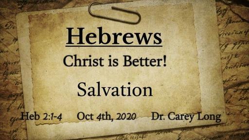 Hebrews: Christ is Better!