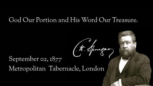 October 4, 2020 - God is Our Portion