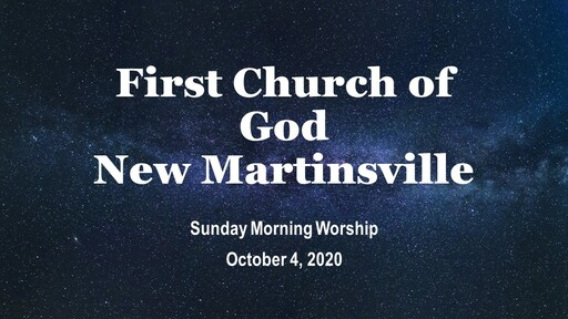 Sunday Morning Worship - 10-4-20