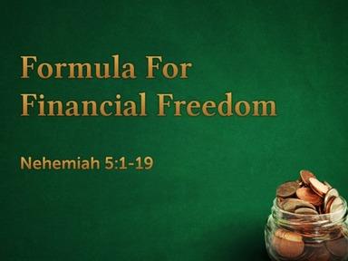 Formula For Financial Freedom