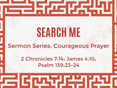 Courageous Prayer
