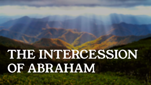 The Intercession of Abraham