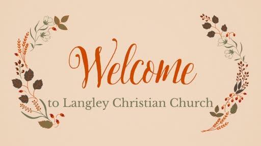 Sunday Worship Service,  October 4, 2020
