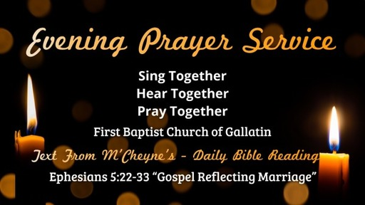 Gospel Reflecting Marriage