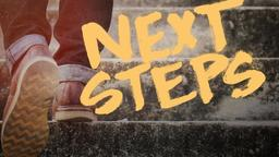 Next Steps announcement 16x9 PowerPoint Photoshop image