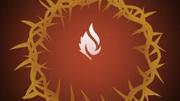 Illustrated Crown of Thorns faithlife 16x9 PowerPoint Photoshop image