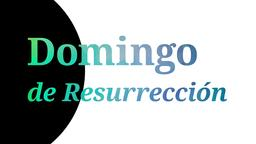 Resurrection Sunday domingo de resurrección 16x9 PowerPoint Photoshop image