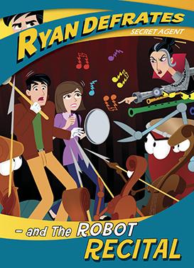 Ryan Defrates: The Robot Recital