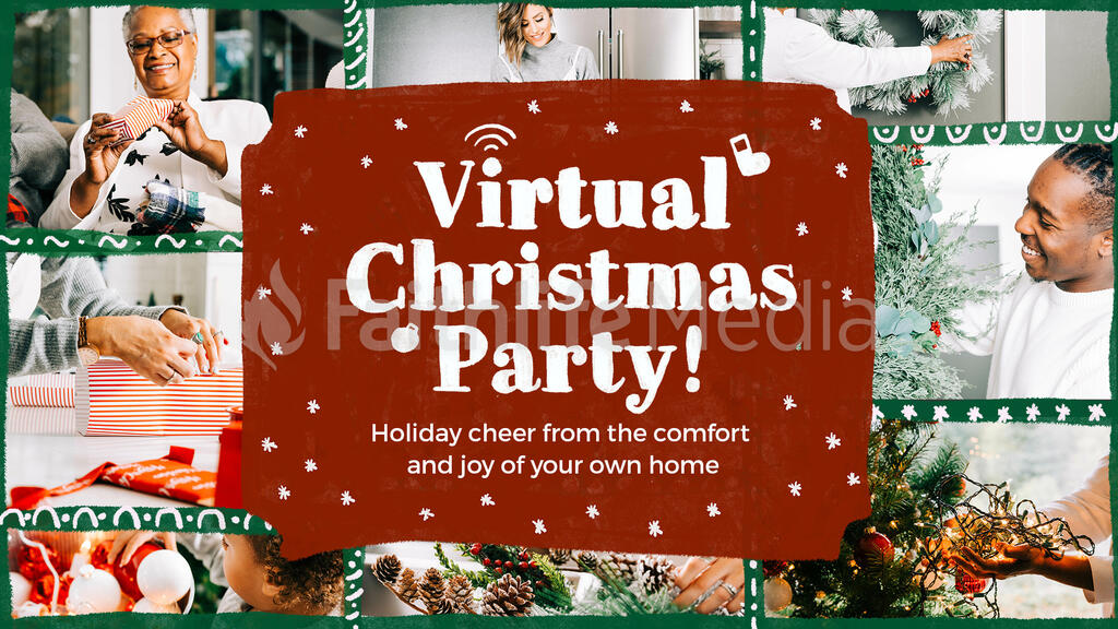 Virtual Christmas Party large preview