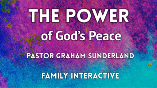 The Power of God's Peace