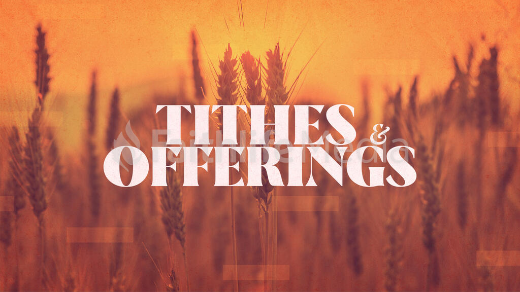 Tithes & Offering Wheat large preview