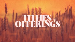 Tithes & Offering Wheat  PowerPoint image 1