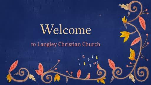 Sunday Worship Service, October 11, 2020