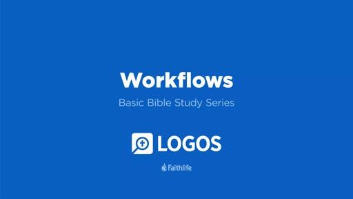 7. Workflows