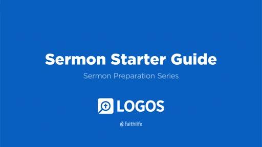 1. Sermon Starter Guide