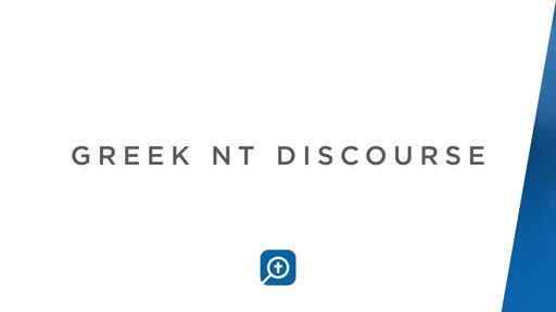 Greek NT Discourse Bundle