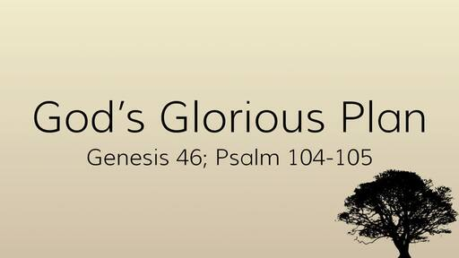God's Glorious Plan