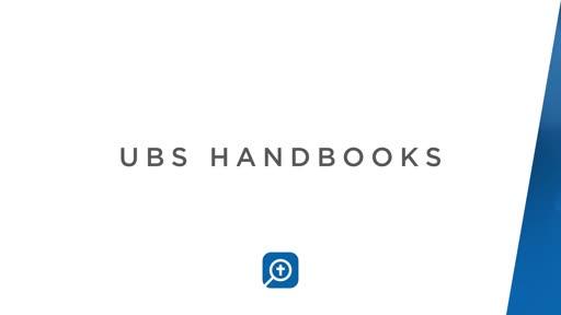 UBS Handbooks