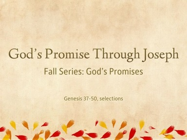 God's Promise to Joseph